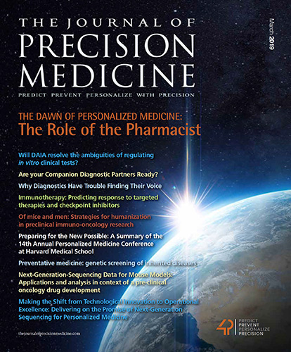 The Journal of Precision Medicine - MARCH 2019