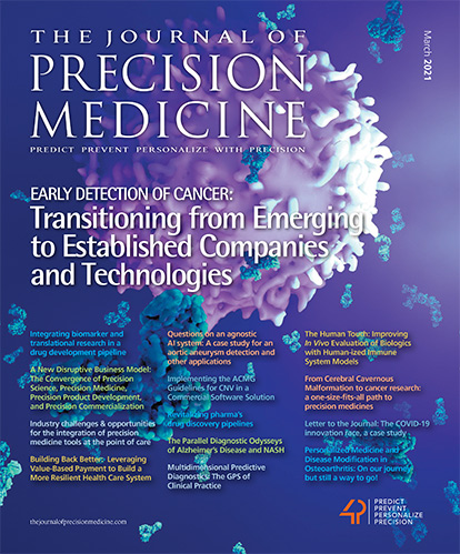 The Journal of Precision Medicine - March