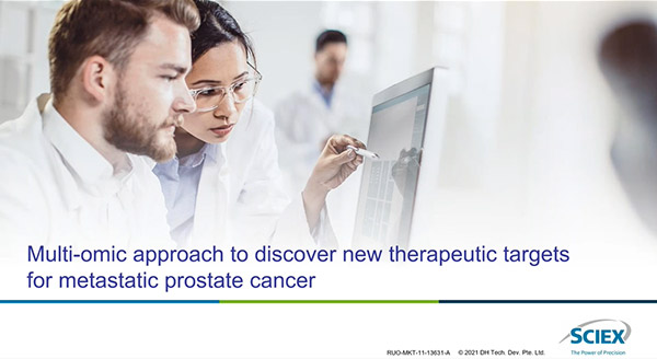 Multi-omic approach to discover new therapeutic targets for metastatic prostate cancer.