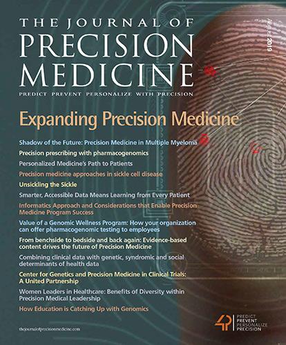 The Journal of Precision Medicine - SEPTEMBER 2019